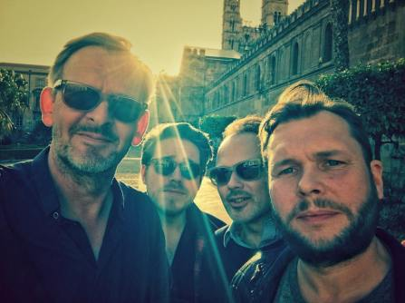 In Palermo with my band